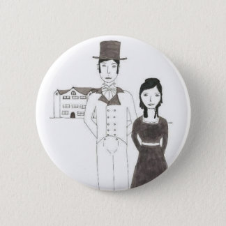 Regency Man and Wife (Time Won't Let Me Go) 2 Inch Round Button