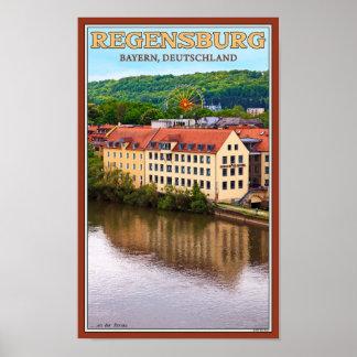 Regensburg Dult - An der Donau Poster