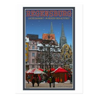 Regensburg Kohlenmarkt Postcard