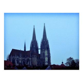 Regensburger Dom, Germany Postcard