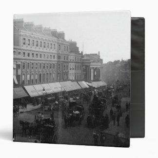 Regent Circus, London, c.1890 Vinyl Binder