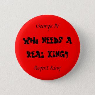 Regent King 2 Inch Round Button
