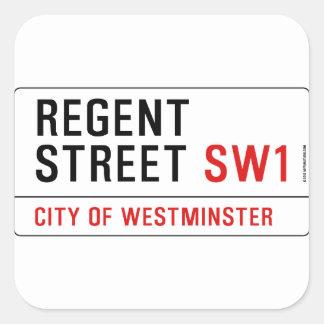 Regent Street Square Sticker