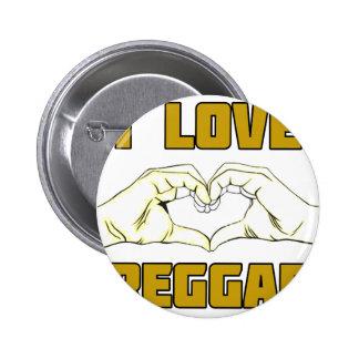 reggae design 2 inch round button