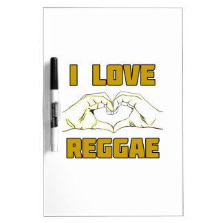 reggae design dry erase board