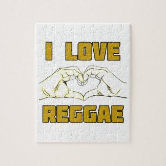 reggae design jigsaw puzzle