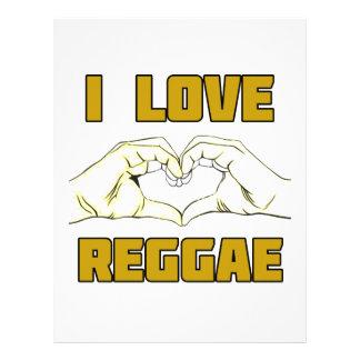 reggae design letterhead