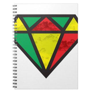 Reggae Diamond Notebook