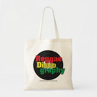 Reggae Discography Vinyl Tote Bag