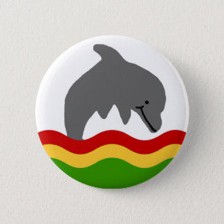Reggae dolphin button