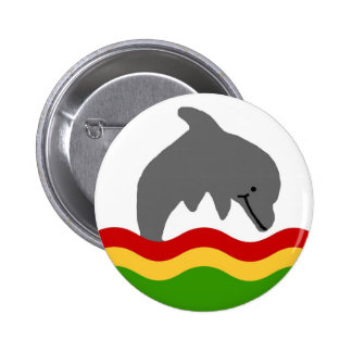 Reggae dolphin button