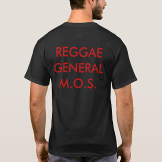 Reggae General's Riddim Roots Radio Men's T-Shirt