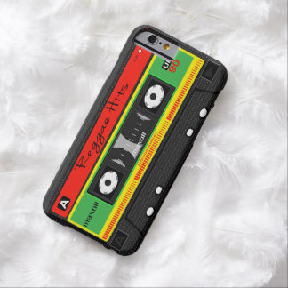 Reggae Hits Tape iPhone Case