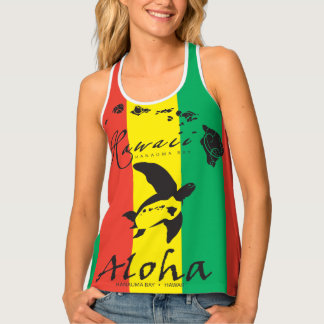 Reggae in Hawaii Tank Top