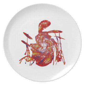 Reggae Junkanoo Plate