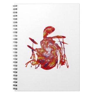 Reggae Junkanoo Spiral Notebooks