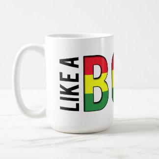 Reggae LIKE a BOSS Classic White Coffee Mug