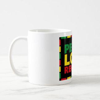 Reggae Mug - Peace Love Reggae