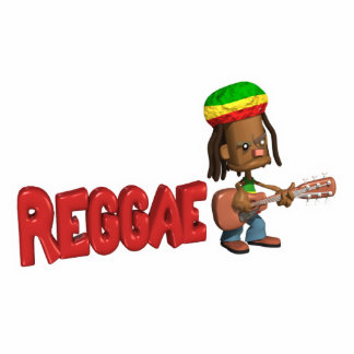 reggae music design cut out