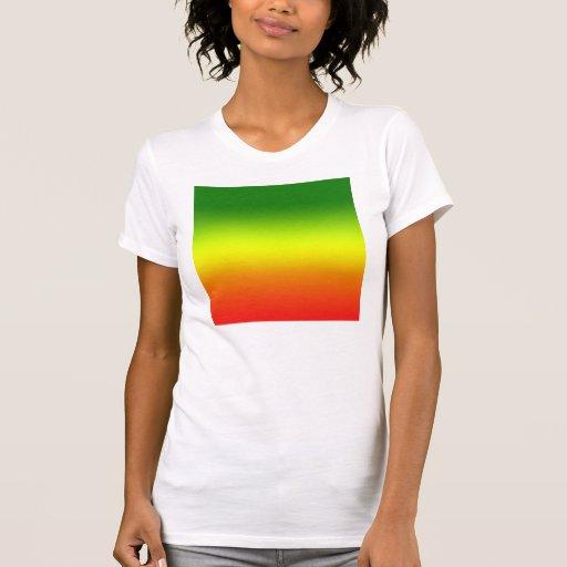Reggae Rainbow Flag design Shirt