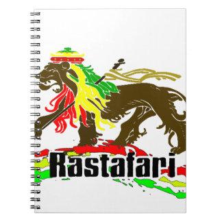 Reggae Rasta Iron, Lion, Zion 2 Notebooks