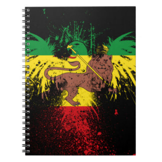 Reggae Rasta Lion Notebook