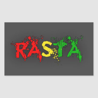 Reggae Rasta Sticker