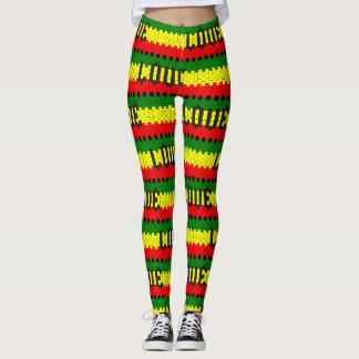 Reggae Rastafara Love - power Yoga put-went Leggings