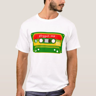 Reggae Rastafarian Colors Mix tape T-Shirt