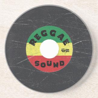 Reggae Record - Sandstone Coaster