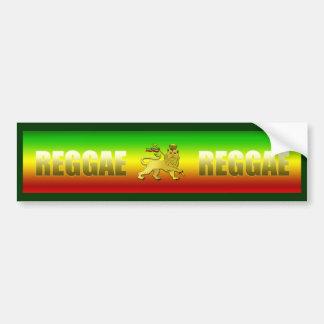 Reggae Reggae Bumper Sticker
