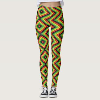 Reggae root Rasta hippie - power Yoga put-went Leggings
