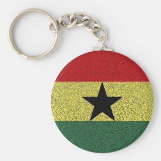 reggae star basic round button keychain