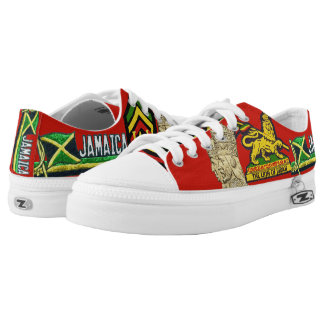 Reggae Steppers Low top Lace up Rasta Sneakers