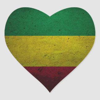 Reggae vibration - One love - jah Rasta Sticker