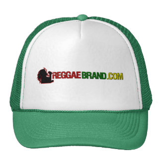 ReggaeBrand.com Trucker Hat (Green)