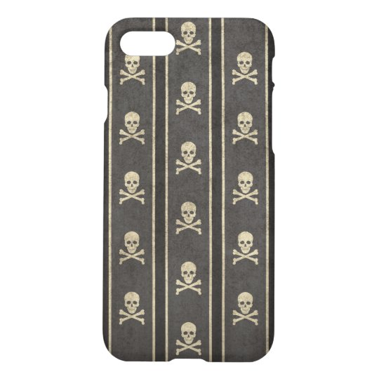 Regimental straipe skull pattern iPhone 7 iPhone 7 Case