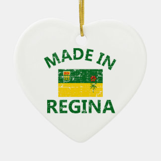 Regina Coat of arms Ceramic Ornament
