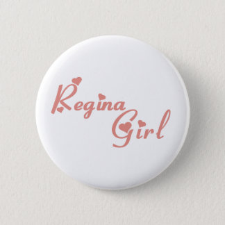 Regina Girl 2 Inch Round Button