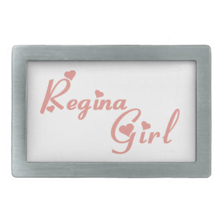 Regina Girl Belt Buckles