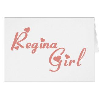Regina Girl Card