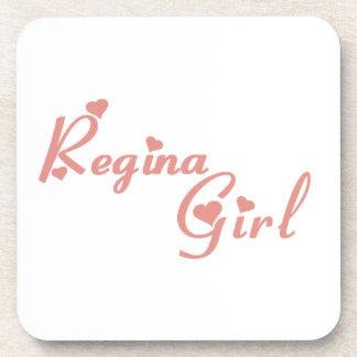 Regina Girl Coaster