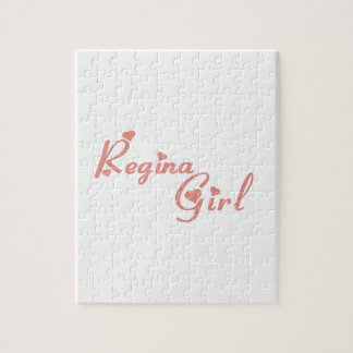 Regina Girl Jigsaw Puzzle