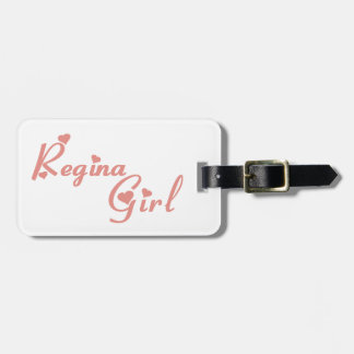 Regina Girl Luggage Tag