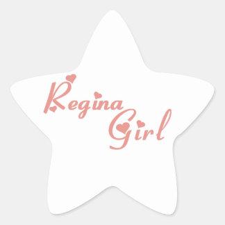 Regina Girl Star Sticker