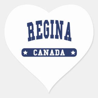 Regina Heart Sticker
