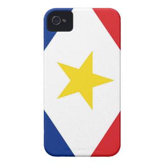 région néerlandaise de pays de drapeau d'île de coque iPhone 4