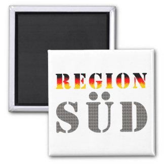 Region south - South Germany Refrigerator Magnet
