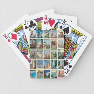 Regions of Italy Bicycle Playing Cards