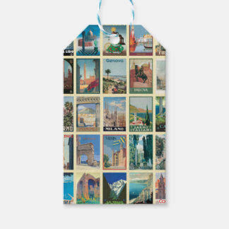Regions of Italy Gift Tags